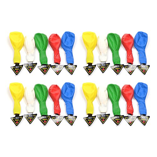 Cosmos ® Pack Of 20 Mixed Color Led Light Up Balloons