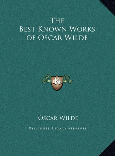 The Best Known Works of Oscar Wilde