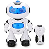 ELEGIANT ロボット 歩行の面白ラジコンロボット 音楽 超格好いい リモコン付き