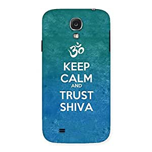 Delighted Trust Shiva Back Case Cover for Samsung Galaxy S4