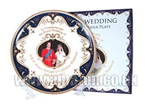 Royal Wedding Bone China Plate