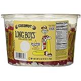 Long Boys Coconut 130 Piece Tub
