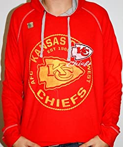 Kansas City Chiefs Majestic NFL Team Spotlight II Lightweight Thermal Sweatshirt by VF