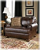 Rustic Walnut Axiom Chair and A Half