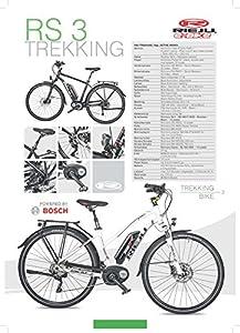 E-BIKE RS3 TREKKING 28 10SP ACTIVE400 L54 schwarz/rot