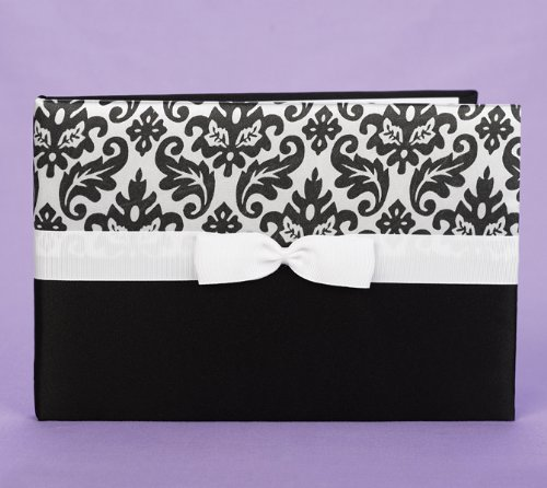 Black Enchanted Guest Book front-931634