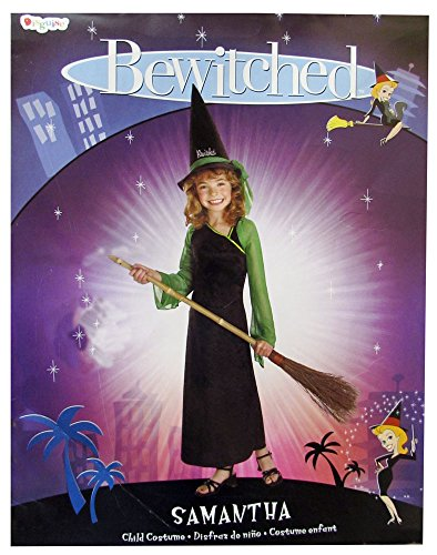 Bewitched: Samantha Standard Child Costume: Size 7-8 (Black Sequin Witch Costume)