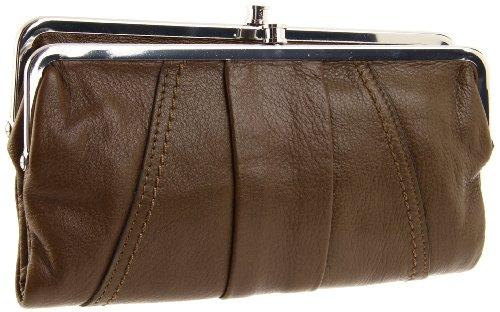 hobo international lauren double frame clutch walletoliveone size - Double Frame Clutch Wallet