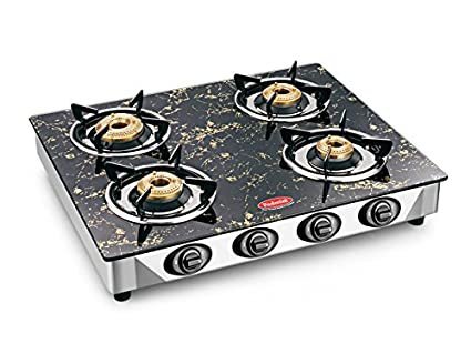Padmini CS-4GT 4 Burner Auto Ignition Gas Cooktop