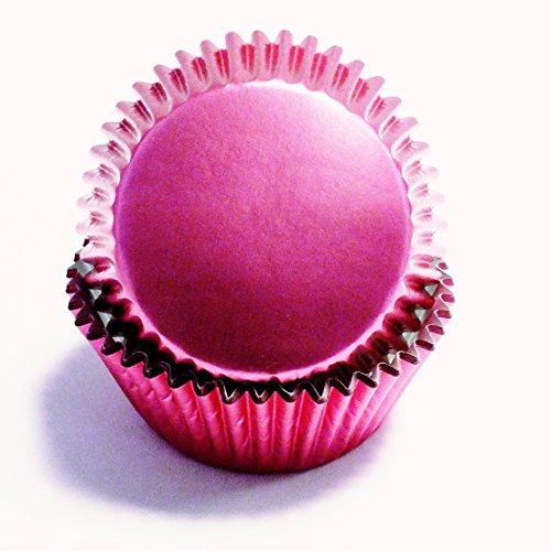 PME Cápsulas para Cupcakes metálizadas rosa PME 30 unidades