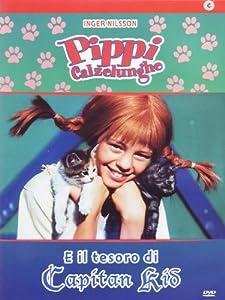 Amazon.com: Pippi Calzelunghe E Il Tesoro Di Capitan Kid [Italian