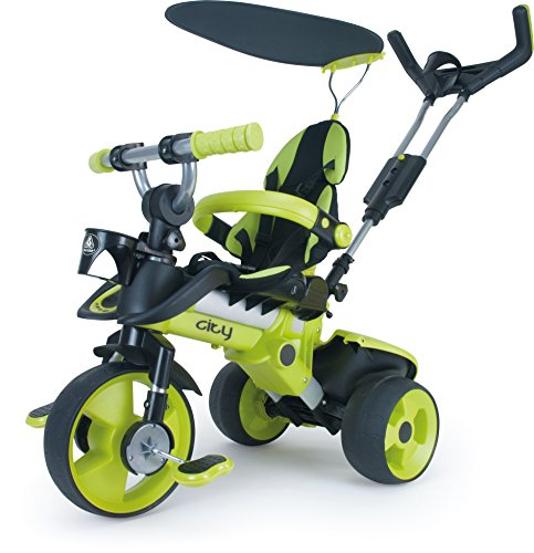 INJUSA Tricycle City Green