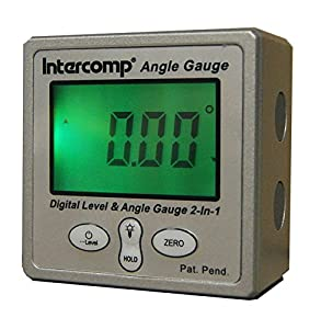 Intercomp 102144 Digital Angle Gauge with Magnetic Base