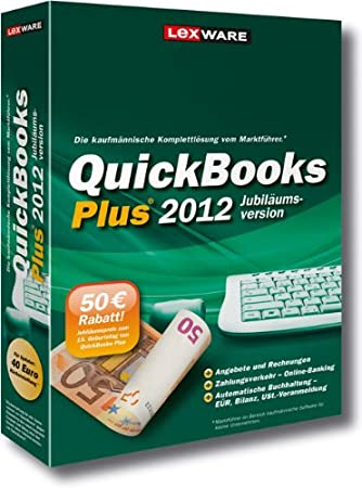 QuickBooks Plus 2012 Jubiläumsversion (V.17.0)