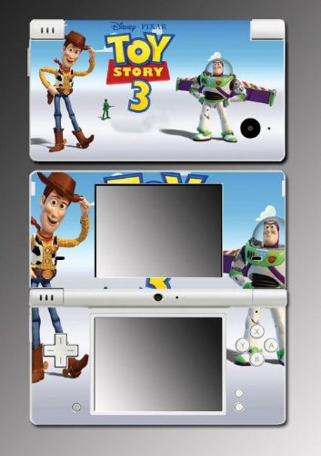 Toy Story Buzz Lightyear Game Vinyl Decal Skin Protector Cover #1 for Nintendo DSi