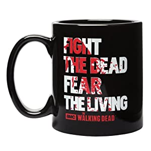 Walking Dead Fight the Dead Fear the Living Disappearing Mug