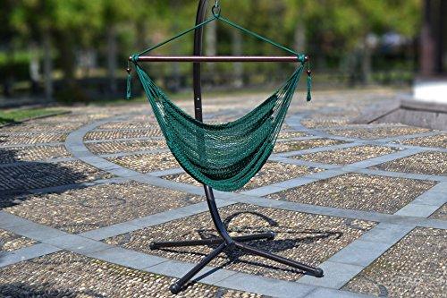 Awardpedia Large Caribbean Hammock Chair 48 Inch