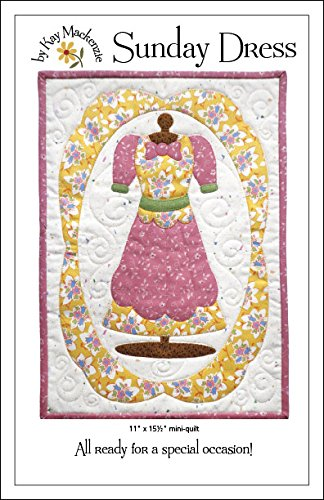 Sunday Dress Mini Quilt Pattern (Mackenzie Quilt compare prices)