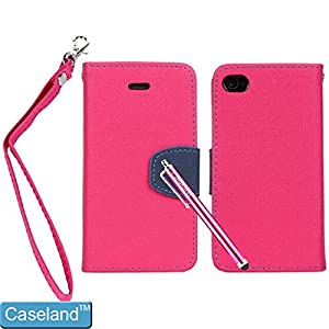 Caseland Wallet Sling Case For Iphone 4s With Credit Card Slots (red) from Caseland