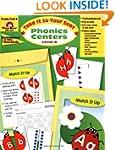 Phonics Centers, Grades PreK-K