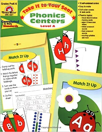 Take It to Your Seat Phonics Centers, Grades PreK-K written by Evan Moor