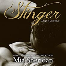 Stinger (       UNABRIDGED) by Mia Sheridan Narrated by Maxine Mitchell, Brian Pallino