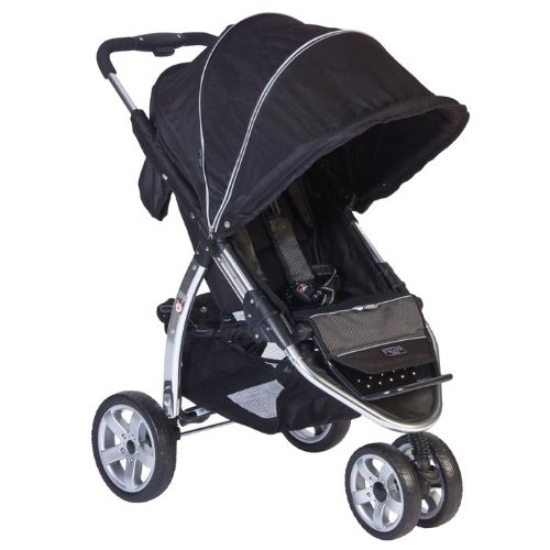 Valco Baby Latitude Single Stroller EX- Licorice - 1