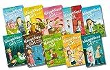 Enid Blyton The Naughtiest Girl Boxed Gift Set 10 Books 1. The Naughtiest Girl in the School 2. The Naughtiest Girl Again 3. The Naughtiest Girl is a Monitor 4. Here's the Naughtiest Girl 5. The Naughtiest Girl Keeps a Secret (6. The Naughtiest Girl