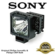 Sony XL-2200 TV Assembly Lamp with Original Philips Housing and UHP Bulb