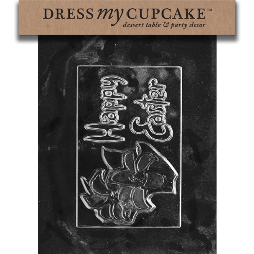Dress My Cupcake Dmce112Set Chocolate Candy Mold, Happy Easter Card, Set Of 6 front-211365
