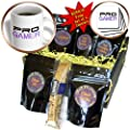 InspirationzStore Typography - Pro gamer - awesome gaming job or hobby and proud of it - computer pro-gamer in black and purple - Coffee Gift Baskets - Coffee Gift Basket (cgb_151243_1)