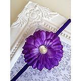Mini cinta con forma de flor, color morado