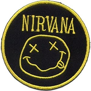 """ Nirvana "" Iron On Patch"