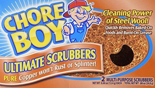 Chore Boy Copper Scouring Pad-2ct (Copper Scrubber Pads compare prices)