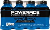 POWERADE  Mountain Berry Blast, 12 ct, 12 FL OZ Bottle