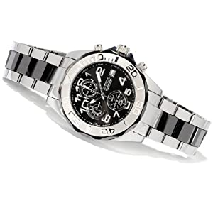 Invicta 1248 Numbered Limited Edition Tungsten & Ceramic Black Pro Diver Men