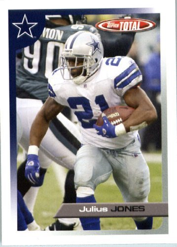 2005 Topps Total Football Karte ( ) # 320 Julius Jones Dallas Cowboys
