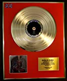 TOOL/LTD. EDITION CD GOLD DISC/RECORD/LATERALUS