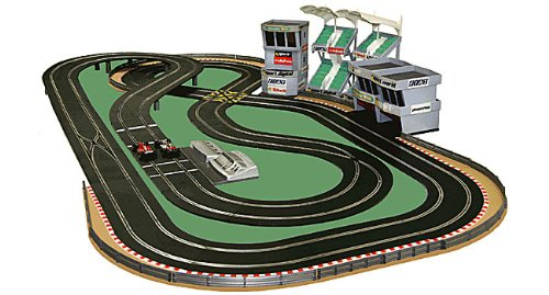 Review for NEW SCALEXTRIC DIGITAL SET SL5 LAYOUT with 2 Cars