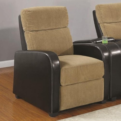 coolidge recliner chair in brown