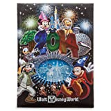 Disney World 2014 Sorcerer Mickey Photo Frame Album Holds 300 4x6 Pictures Large Size - NEW
