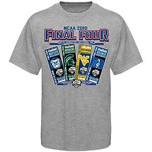 NCAA Men's Basketball 2010 Final Four Group Tickets T-shirt