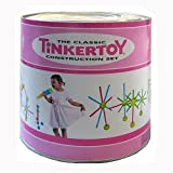 Tinkertoy Classic Construction:Girls Pink 200 Pc Tinker Toy