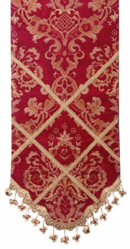 Jennifer taylor 2783 747 table runner 16 inch by 120 inch for 120 inch table runner