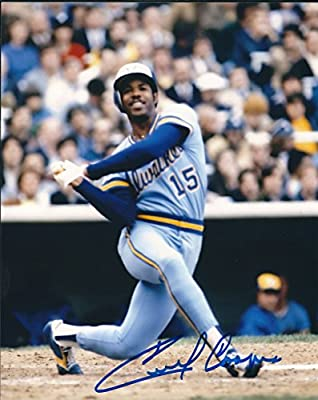 Autographed Cecil Cooper 8x10 Milwaukee Brewers Photo