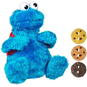 Sesame Street Count 'N Crunch Cookie Monster