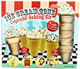 Brand Castle Ice Cream Cone Cupcakes Kit, 6-Count