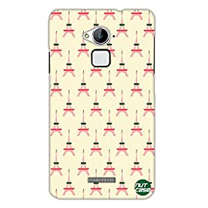 Designer COOLPAD Note 3 Case Cover Nutcase - Multiple Eiffel Towers
