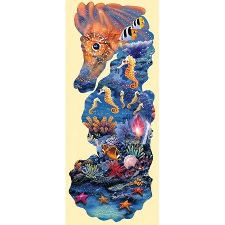 Cheap SunsOut Steve Sundram Horse of Jewels Shaped Jigsaw Puzzle (B001YJZLXC)