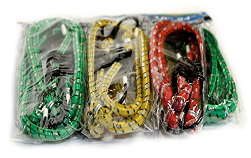 "Learn More About 12 Piece Bungee Cords in Assorted Sizes and Colors, 12 Inch, 16 Inch, and 24"" ..."